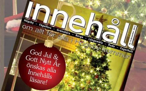 Innehåll nr 12 – december 2012