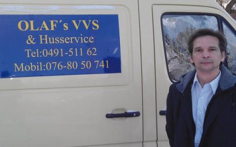 Olafs VVS firma i Fågelfors fixar det mesta