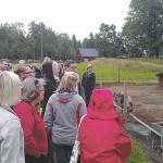 Glada grisar väckte stort intresse