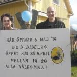 Bed & Breakfast Bibeloo öppnar upp i Berga !