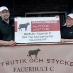 Premiär för Måketorps Kött i Fagerhult