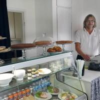 Intressant Trädgårdscafé utvecklas i Berga