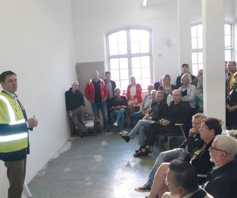 Frukostmötet vid Frövi Kraftverk slog rekord