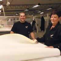 Viking Beds of Sweden AB i Berga ökar produktionen av bäddmadrasser