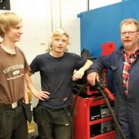 Industritekniska i Högsby lockar högstadieungdomar på sommarlovet