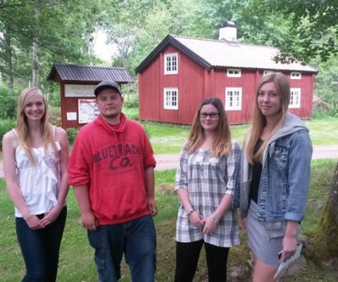 Våra ungdomar vill driva företag på sommarlovet