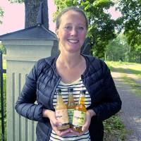 Berga Bruks äppelsatsning  har fått en smakstart