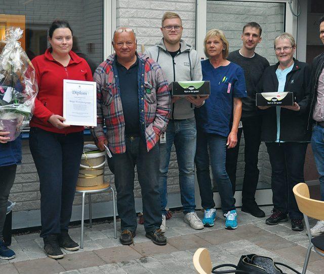 Grattis Berga hemtjänstgrupp