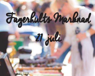 Fagerhults marknad 21 juli