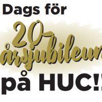 20-årsjubileum på HUC