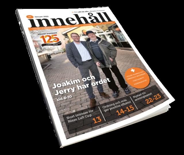 Årets första Innehåll – om allt för alla i Högsby kommun