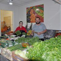 Lokal matbutik satsar på grönsaker